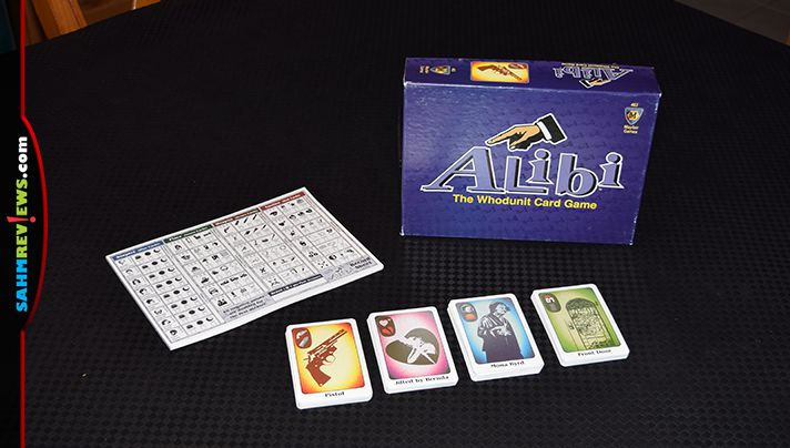 Mayfair Games' Alibi is this week's Thrift Treasure find. See why it is much more than just a version of Clue by reading more on the site! - SahmReviews.com