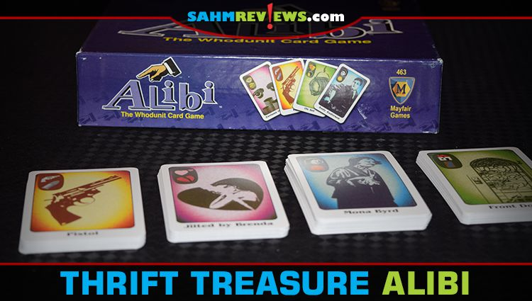 Thrift Treasure: Alibi Card Game