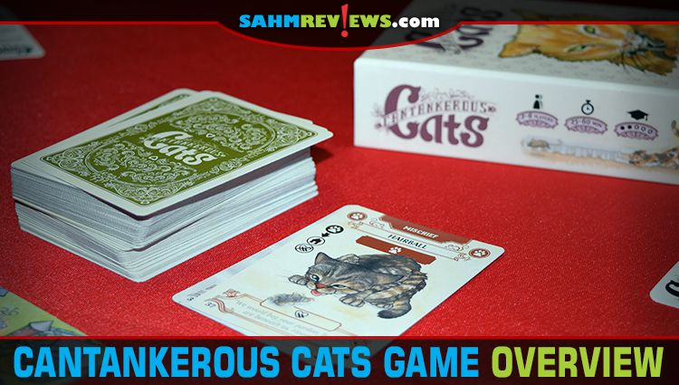Cantankerous Cats Card Game Overview