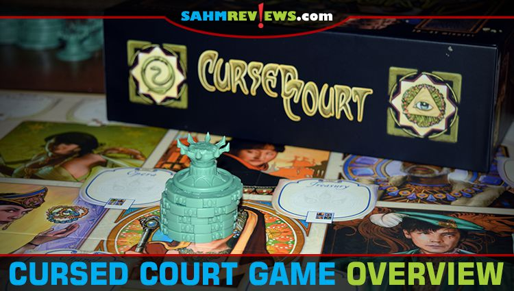 Cursed Court Deduction Game Overview