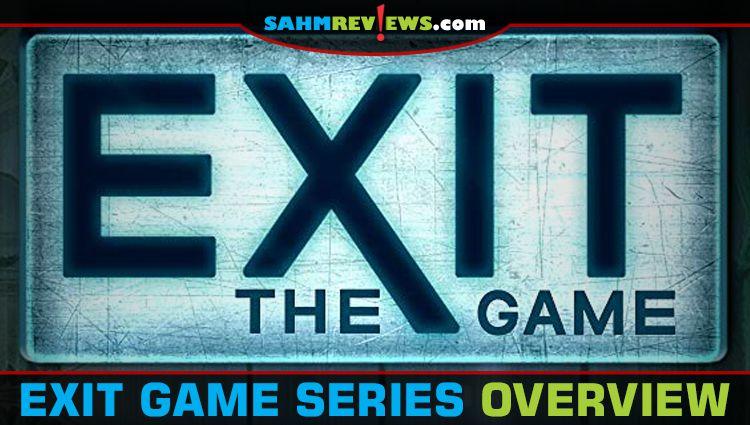 EXIT Escape Room Puzzle Game Overview