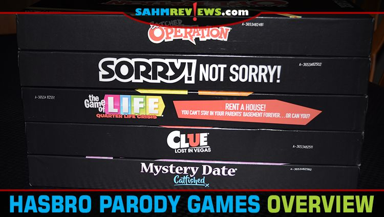 First Look: Hasbro Parody Games