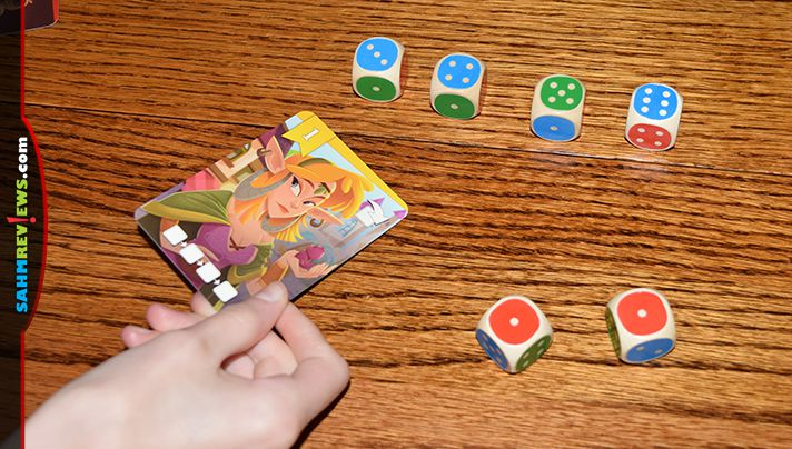 Roll the right combinations to entice citizens to your kingdom in King of the Dice game from HABA. - SahmReviews.com
