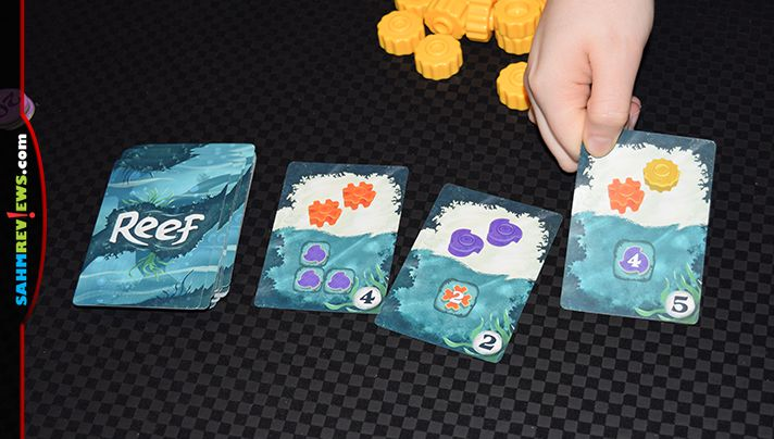 The second game issue from Next Move Games appears to be as good as their first, Azul! Find out more about this abstract game gone underwater! - SahmReviews.com