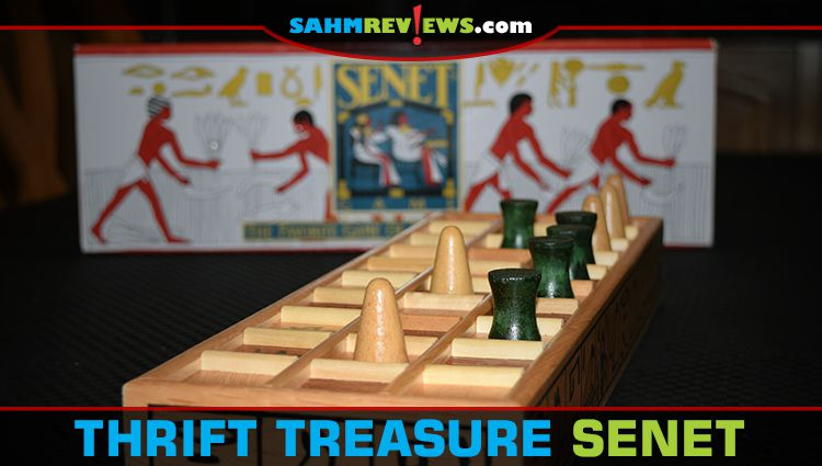 Thrift Treasure: Senet Game