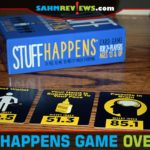 Some games are good in both regular and adult versions. Stuff Happens by Goliath Games is a family-friendly version of their hit game, Shit Happens! - SahmReviews.com