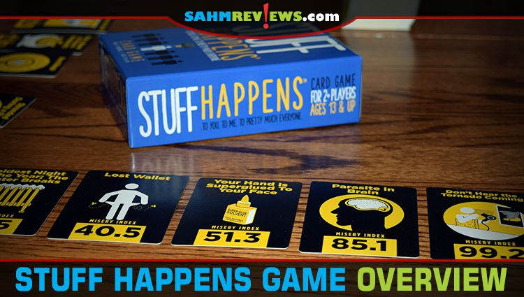 Stuff Happens Card Game Overview