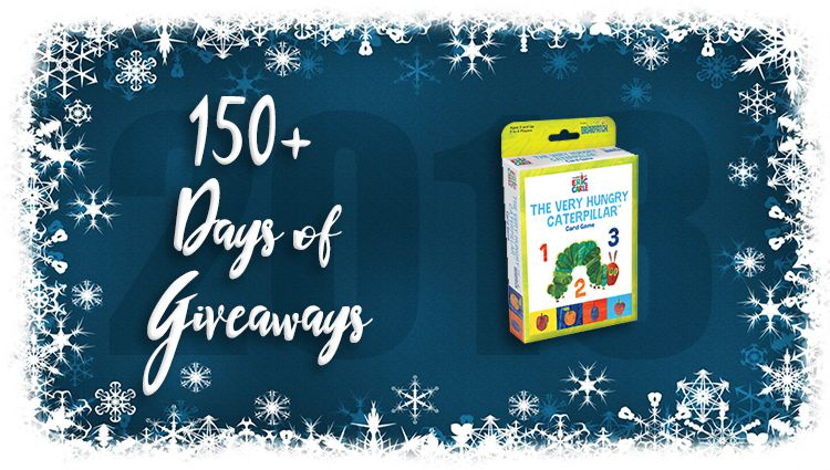The Very Hungry Caterpillar Game Giveaway