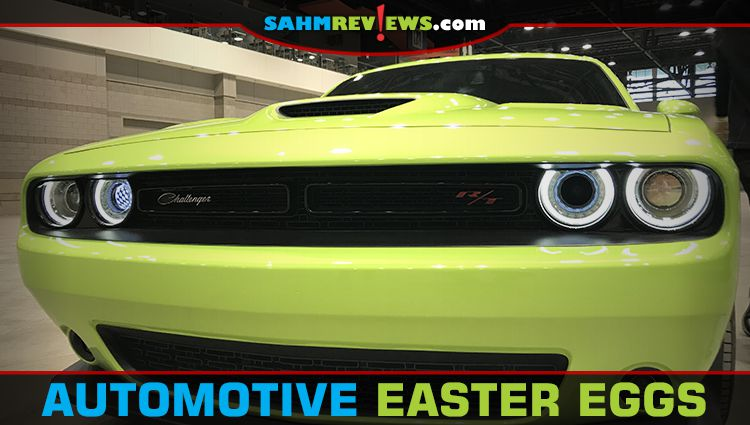 Chicago Auto Show Easter Eggs