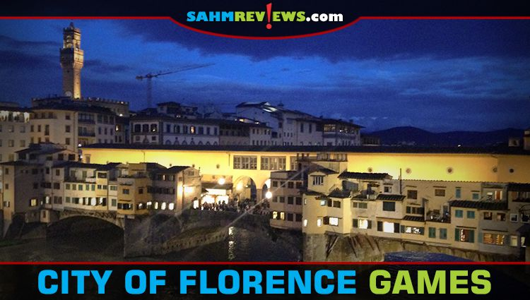 The City of Florence in Person and in Games