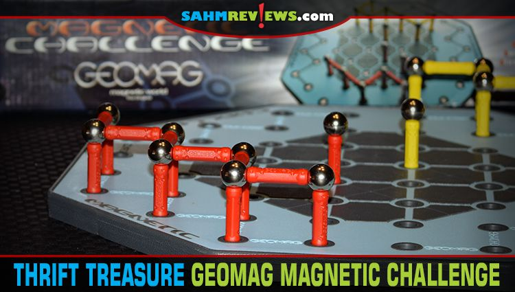 Thrift Treasure: Geomag Magnetic Challenge
