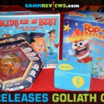 Goliath Games was busy last year, issuing a number of brand new games and toys. We take a look at four of their best releases! - SahmReviews.com