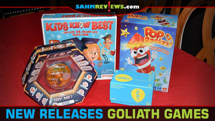 New Releases from Goliath Games