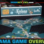 In Kodama by Indie Boards and Cards, you get to raise your own tree while keeping the tree spirits happy! Find out more about this wonderful card game! - SahmReviews.com