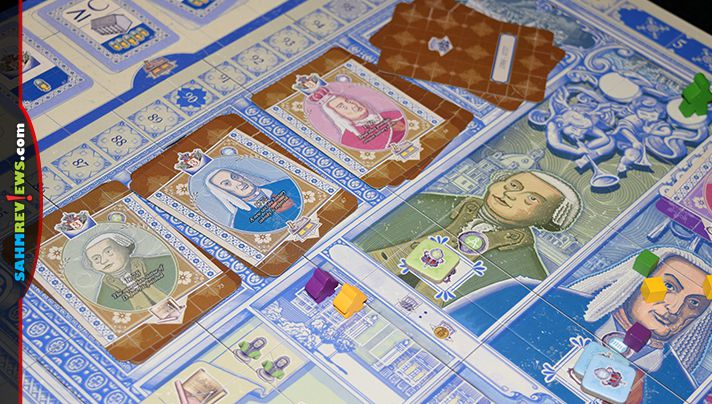 Games aren't educational for just kids - adults can learn too! Lisboa by Eagle-Gryphon Games told us the story of how Lisbon survived three tragedies! - SahmReviews.com