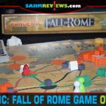 We're going to say it! Pandemic: Fall of Rome by Z-Man Games is the best Pandemic version made to date! Find out why defeating barbarians is more fun! - SahmReviews.com