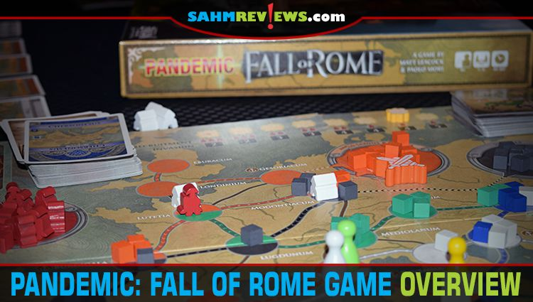 Pandemic: Fall of Rome Game Overview