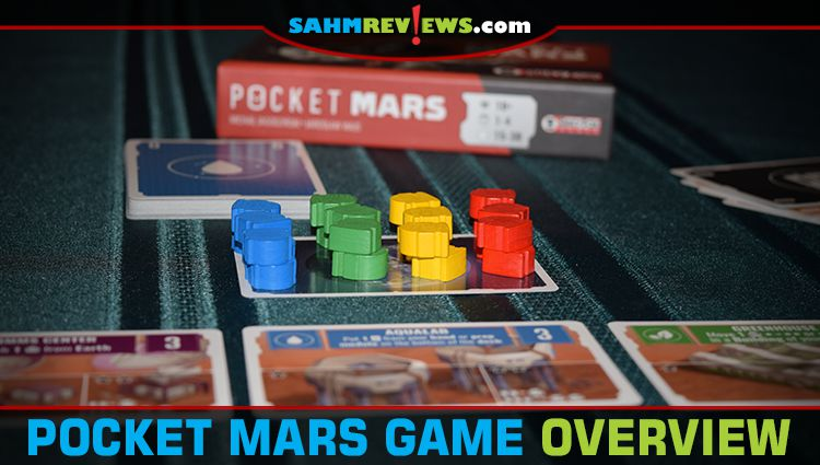 Pocket Mars Card Game Overview