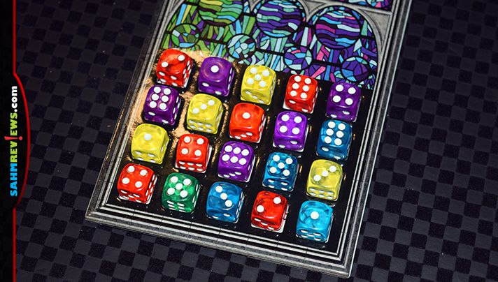The end results are as enjoyable as the game play in Sagrada dice game from Floodgate Games. - SahmReviews.com
