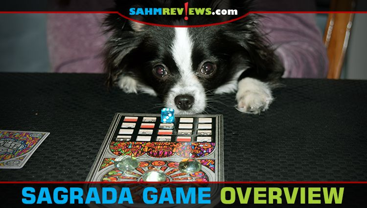 Sagrada Dice Game Overview with 5-6 Player Expansion
