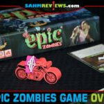 Zombies are loose in the mall in Tiny Epic Zombies from Gamelyn Games. Heads-up: This game is bigger than the box lets on! - SahmReviews.com