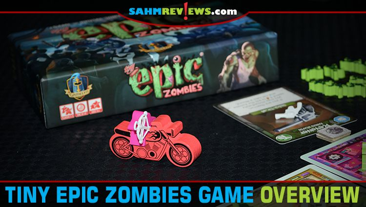 Tiny Epic Zombies Game Overview