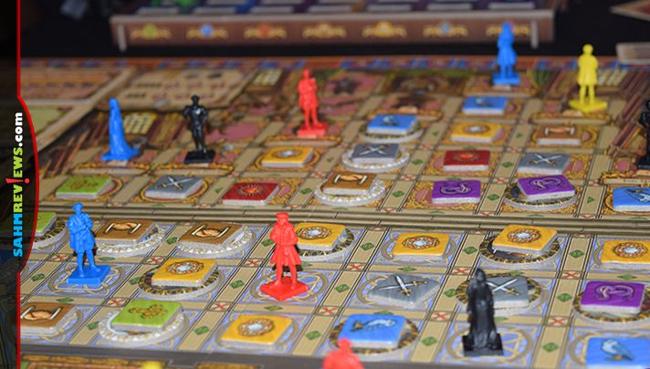 Work your way up the ranks of the Royal Court in Tudor Board Game from Academy Games. - SahmReviews.com