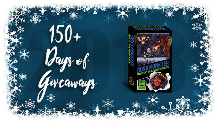 Boss Monster: Rise of the Minibosses Game Giveaway