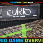 Take four parts of deductive reasoning and add in one part of speed requirement and you get the new Curio: The Lost Temple by WizKids! Did it work for us? - SahmReviews.com