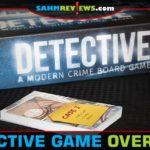 Put on your investigator badge and get to work to decipher the clues in this Detective game from Portal Games. - SahmReviews.com