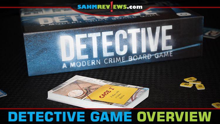Detective Deduction Game Overview