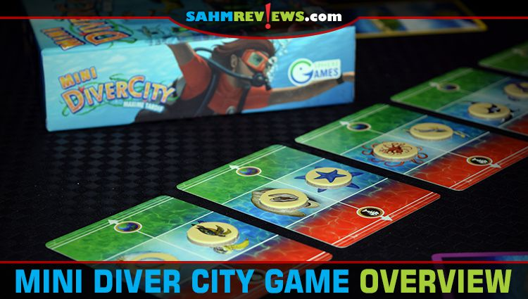 Mini Diver City Card Game Overview