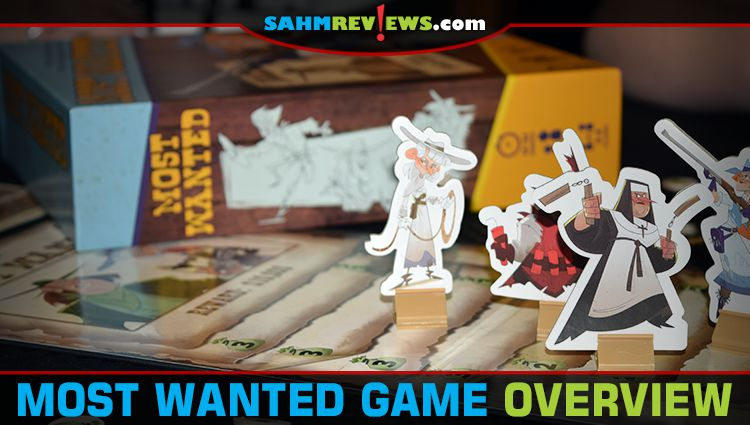 Most Wanted Card Game Overview