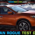 With the Chicago Auto Show as the destination, we hit the road on the ice and snow to test drive the 2019 Nissan Rogue SV AWD. - SahmReviews.com