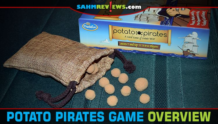 Potato Pirates Card Game Overview