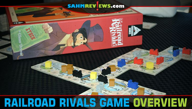 Railroad Rivals Train Game Overview