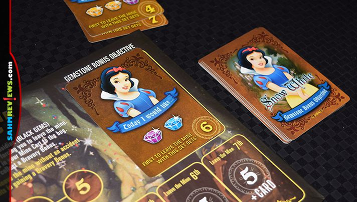 Disney fans and gamers alike will enjoy Snow White and the Seven Dwarfs Gemstone Mining Game from USAopoly. - SahmReviews.com