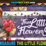 We've never purchased flowers at Goodwill, but this time we made an exception. Dr. Finn's Games' The Little Flower Shop was too cute to pass up! - SahmReviews.com