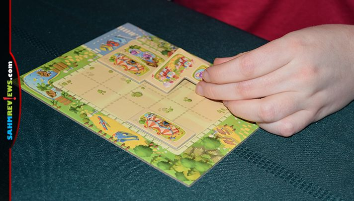 Design your own amusement park in Tiny Park game from HABA. - SahmReviews.com