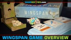 Wingspan Game with Oceania Expansion Overview