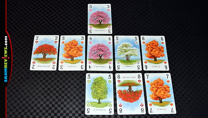Today we're building our own arboretum in the card game by the same name by Renegade Game Studios! How many species will we be able to plant and score? - SahmReviews.com