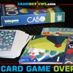 We're ready to switch things up at our next family gettogether. We're bringing along Bezier Games' new Cabo card game so we don't get stuck playing Euchre. - SahmReviews.com