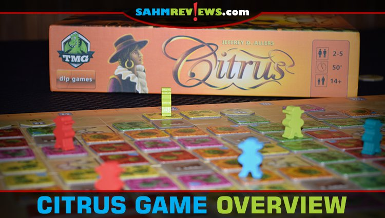 Citrus Tile-Laying Game Overview