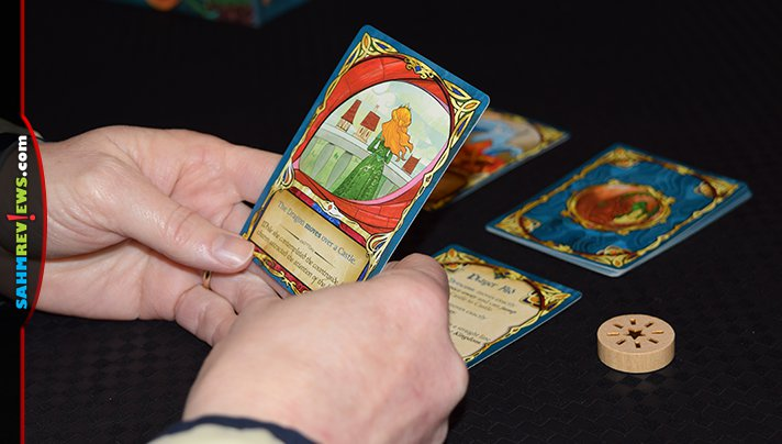 Fairy Tile by iello is not only a good game for introducing your kids to modern board games, it helps them create a story to tell when they win! - SahmReviews.com
