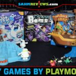 Plenty of fun and affordable family games by PlayMonster including Chrono Bomb Night Vision, Don't Rock the Boat and Yeti, Set, Go! - SahmReviews.com