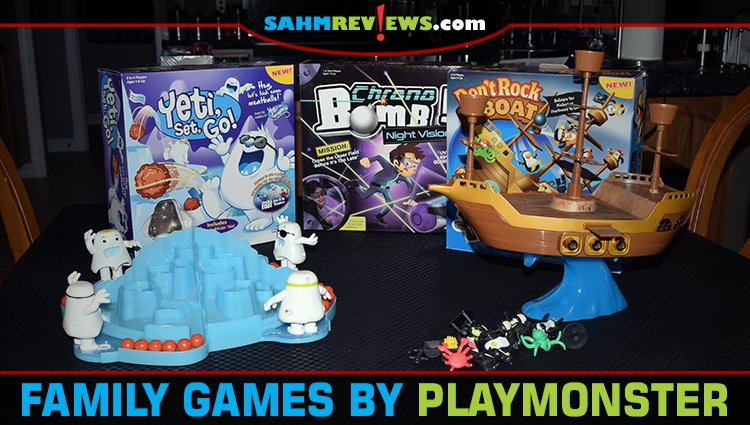 New Family Games by PlayMonster