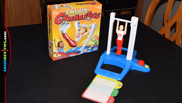 It's still a pretty new game, but a copy of Fantasic Gymnastics already hit the shelves of our local Goodwill. After playing, we found out exactly why! - SahmReviews.com
