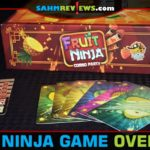 We spent so many hours playing Fruit Ninja on our iPad! Now we can get others involved by breaking out Lucky Duck Games' Fruit Ninja: Combo Party card game! - SahmReviews.com