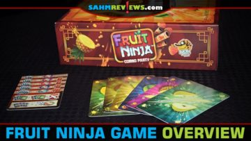 Fruit Ninja: Combo Party Card Game Overview