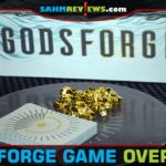 Using dice as currency adds an element of randomness to Godsforge battle game from Atlas Games. - SahmReviews.com